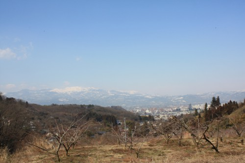 今日も吾妻山がキレイに観えました。