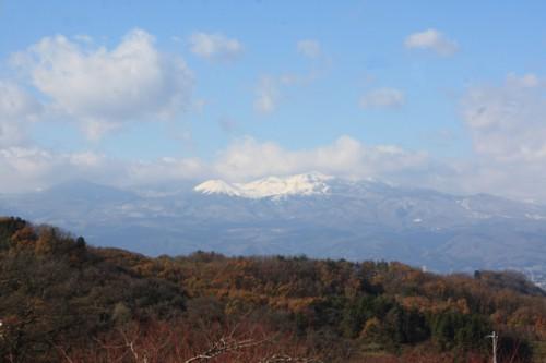 福島県福島市花見山公園の情報15121h0吾妻連峰