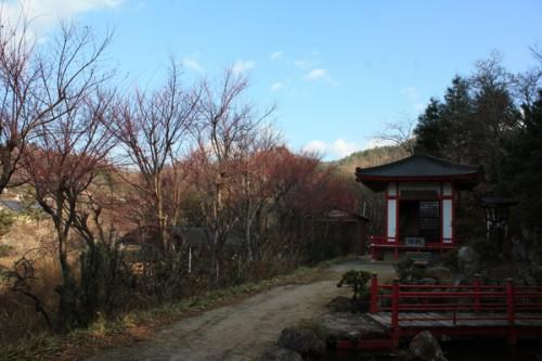 福島県福島市花見山公園の情報 不倒堂