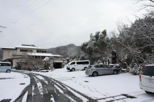 福島県福島市花見山公園の情報 駐車場