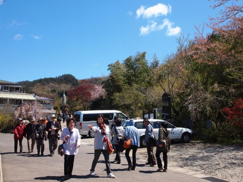 140415 福島県福島市花見山公園の情報 入口