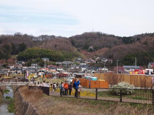 160408 福島県福島市花見山公園の情報 歩行者専用道路