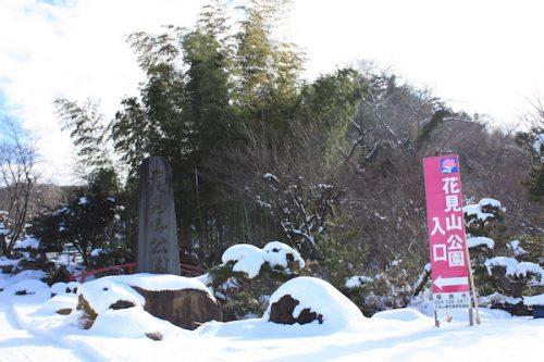福島県福島市花見山公園の情報2017年1月17日 IMG_7706