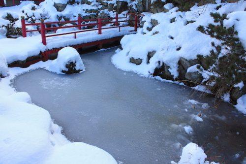 福島県福島市花見山公園の情報2017年1月17日 IMG_7726