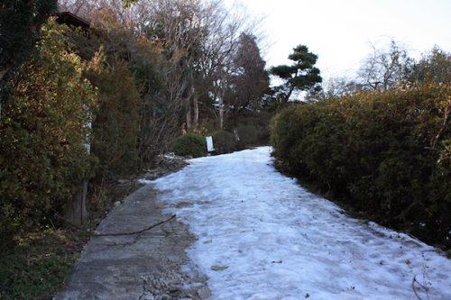福島県福島市 花見山公園の情報2018年2月16日 IMG_9945