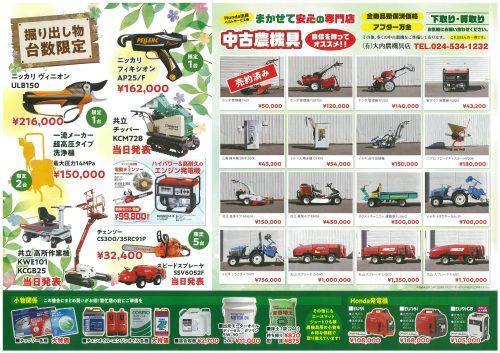 ホンダサンフィールド福島「春爛漫」大展示即売会