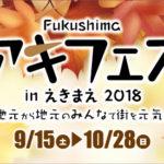 Fukushimaアキフェスinえきまえ2018