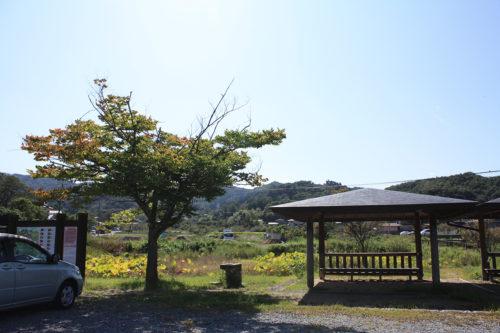 福島県福島市花見山公園2020年10月2日画像7339あづまや