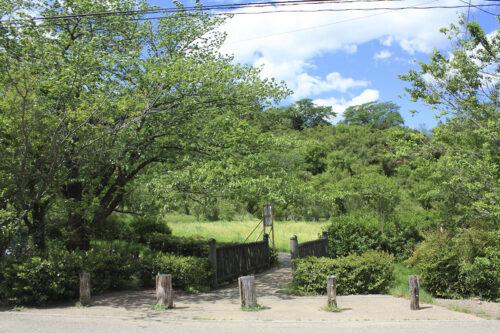 福島県福島市 花見山公園の情報 2021年5月10日 鈴ヶ入川にかかる橋