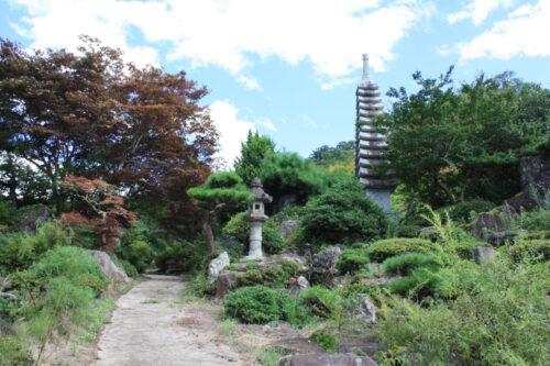 福島県福島市 花見山公園の情報 2021年8月10日 IMG_8784